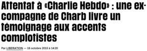 La police et la justice écartent Valérie, témoin gênant de l'affaire Charlie